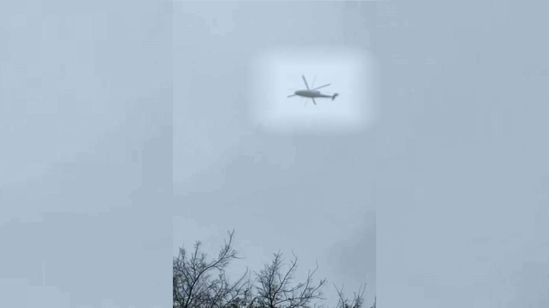 Las últimas imágenes del helicóptero de Kobe Bryant volando.Pilar Gutiérrez de Piñeres Campo es una auténtica trotamundos