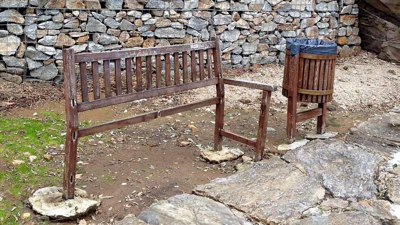 La lluvia inundó varias veces fincas el pasado invierno.