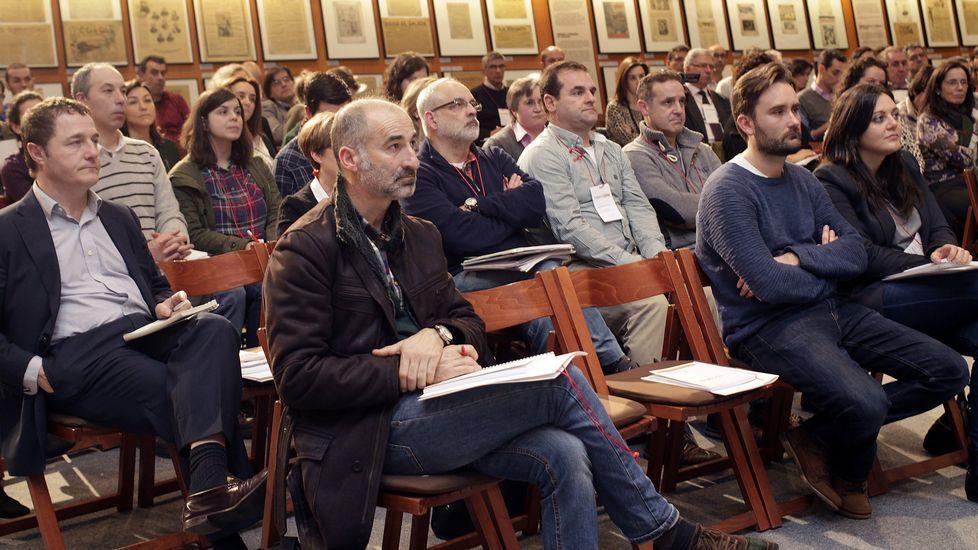 Jornadas organizadas por la Plataforma Proyecta celebradas en el Museo de La Voz de Galicia