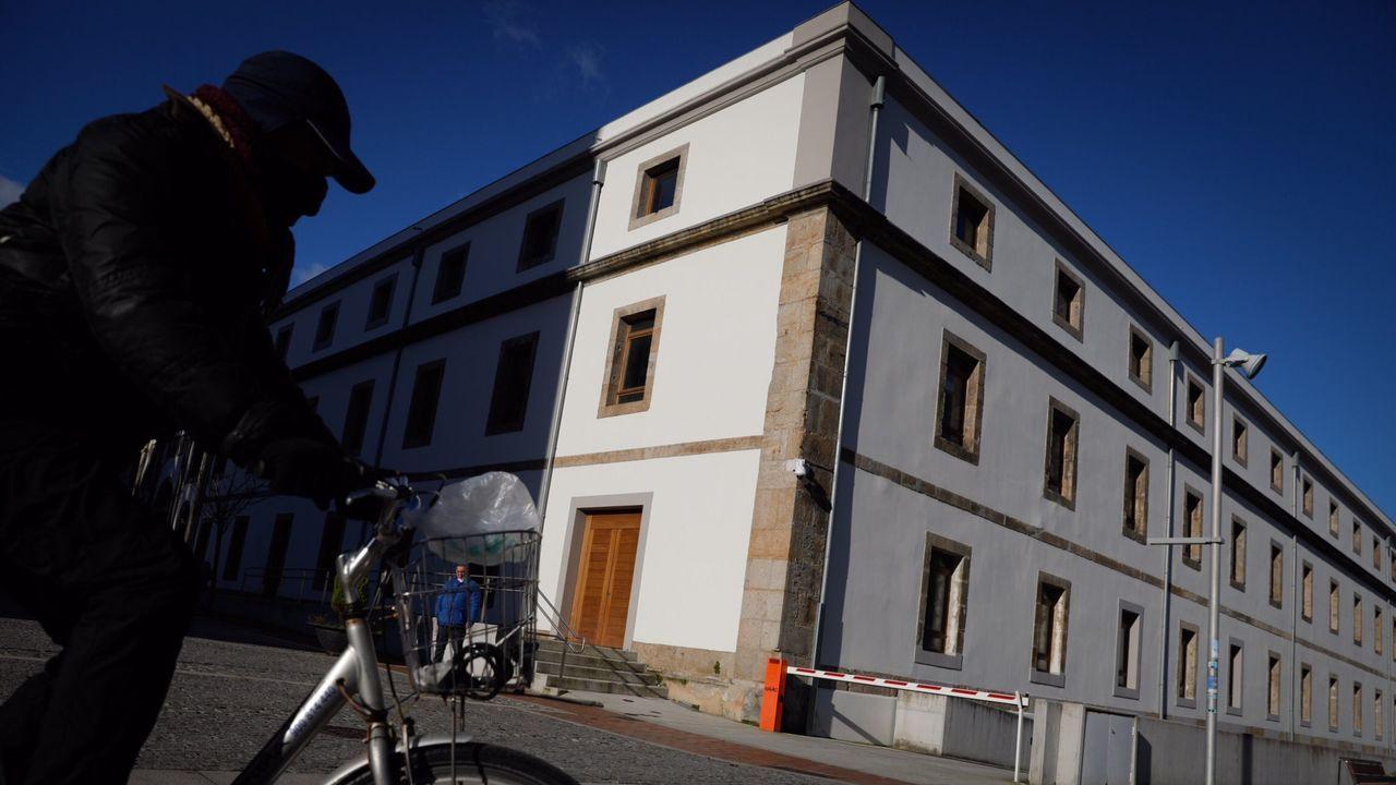 Exterior de la Audiencia Provincial de A Coruña