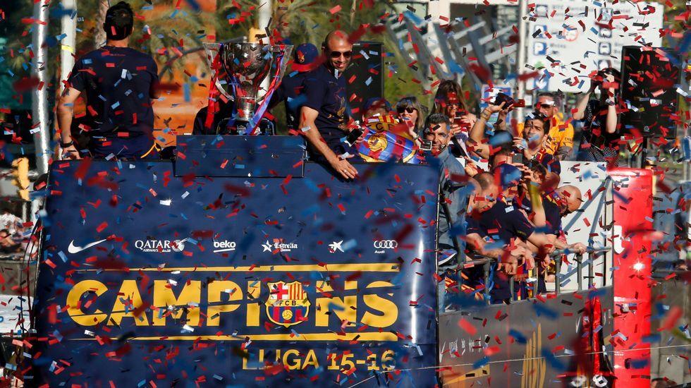 La fiesta azulgrana por las calles de Barcelona.Lisa Fisher ganó dos Grammy a lo largo de su carrera