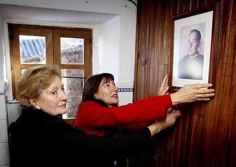 El retrato de Rodríguez Fraiz cuelga ya en la galería de ilustres.