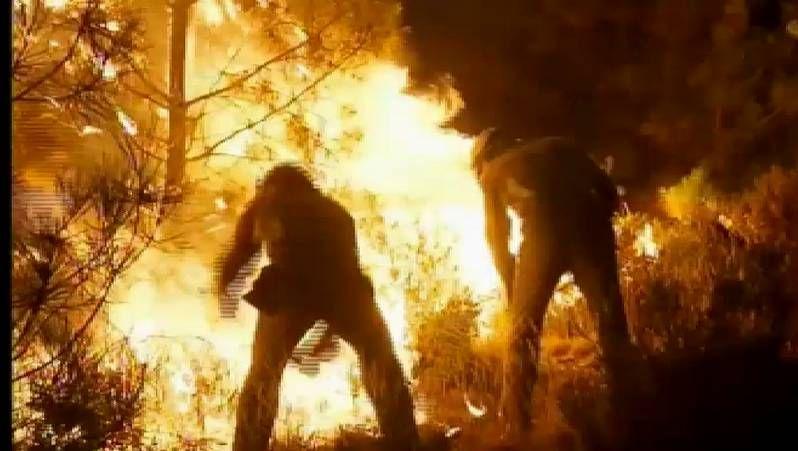 Continúan los incendios en Ourense