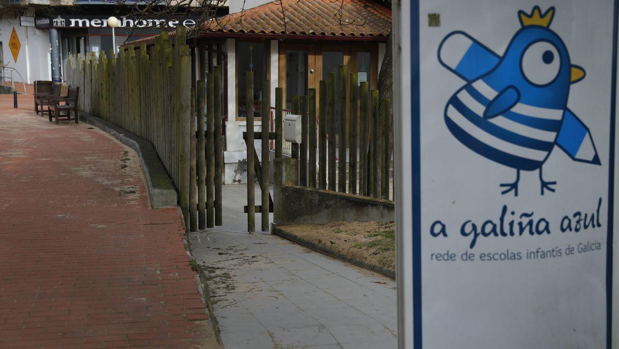 Localizan al conductor que circuló por el carril contrario en la avenida de Monelos