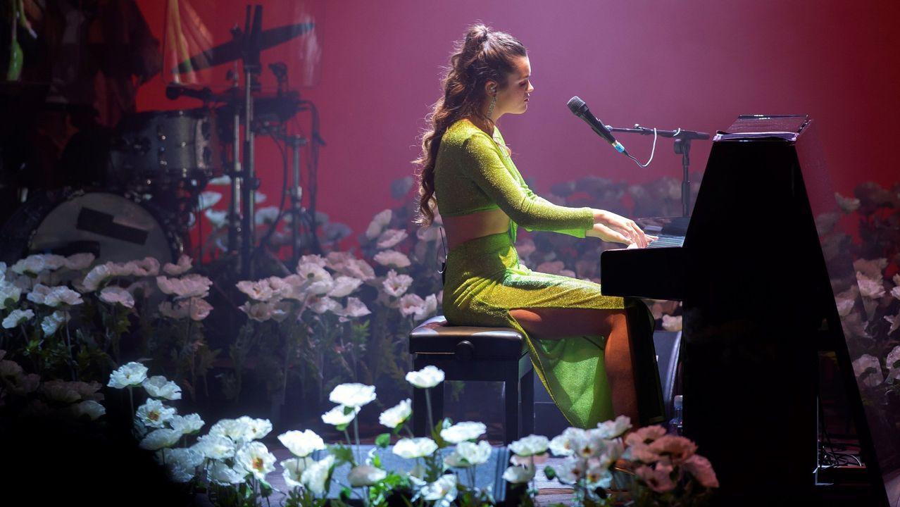 El concierto de Amaia en A Coruña, en fotos.Lucía Camba y Manuel Viso