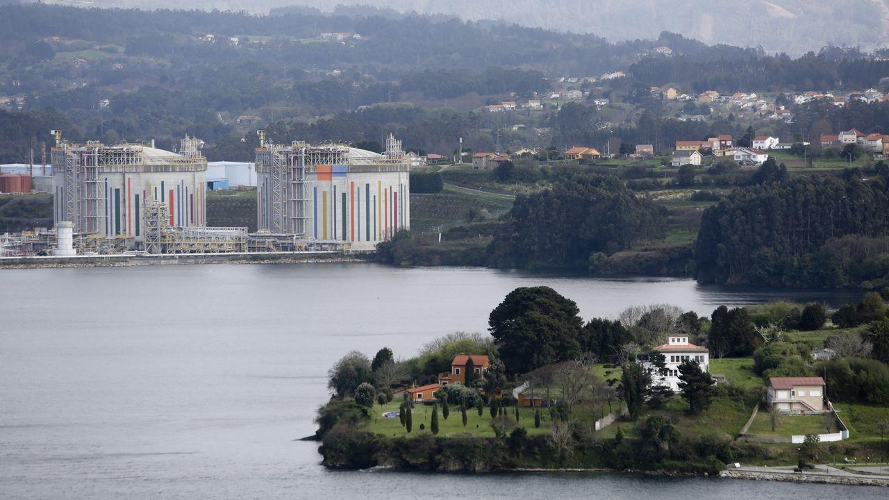 Así se vivió la Bandera Reganosa en la ría de Ferrol