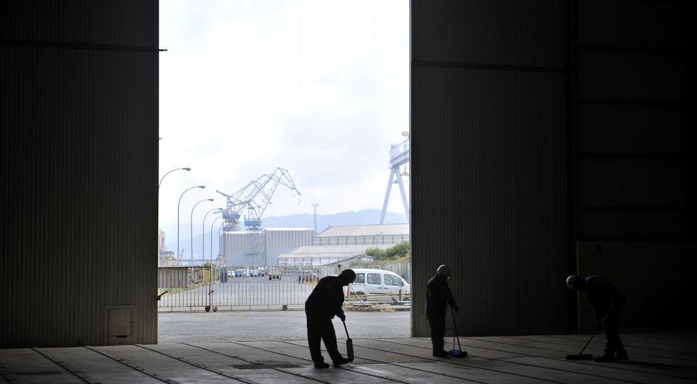El contrato de Iberdrola para fabricar 29 jackets se desarrollará en la antigua Imenosa y en el astillero de Fene.