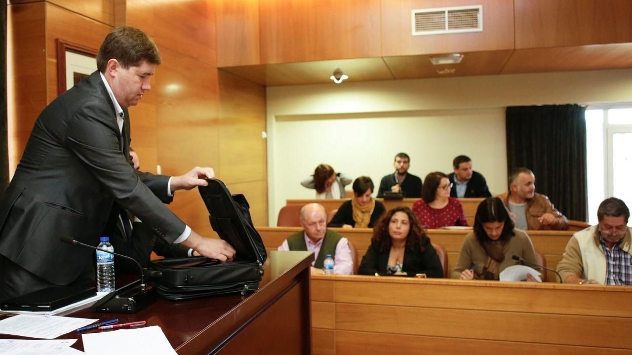 Xosé Ansede, candidato del BNG en las últimas elecciones municipales