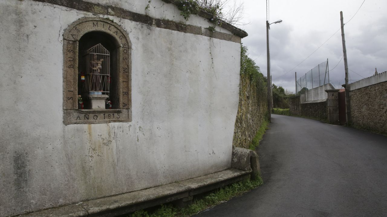 bodas coru.Peto de ánimas de San Antón, en la parroquia cambresa de Sigrás