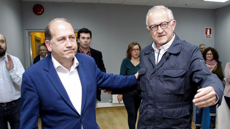 La designación de senador autonómico reabre las pugnas internas en el PSdeG