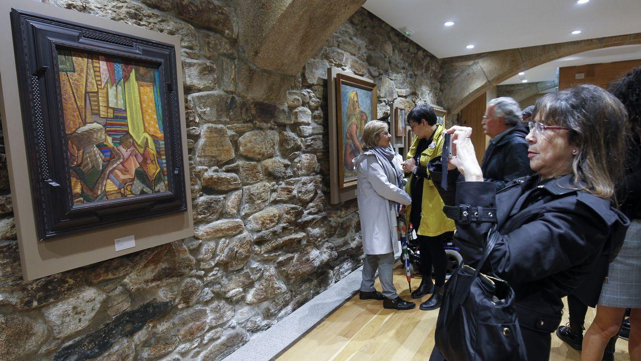 A exposición «Carlos Maside. Patrimonio de Galicia» permanecerá de xeito temporal en Fonseca