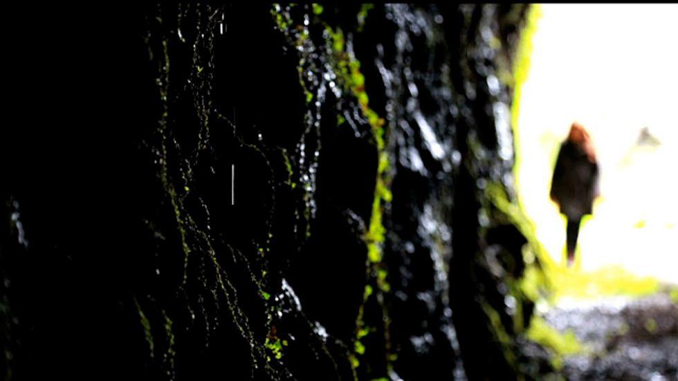 Un fotograma de «Negrea», corto de Juan Luis Ruiz