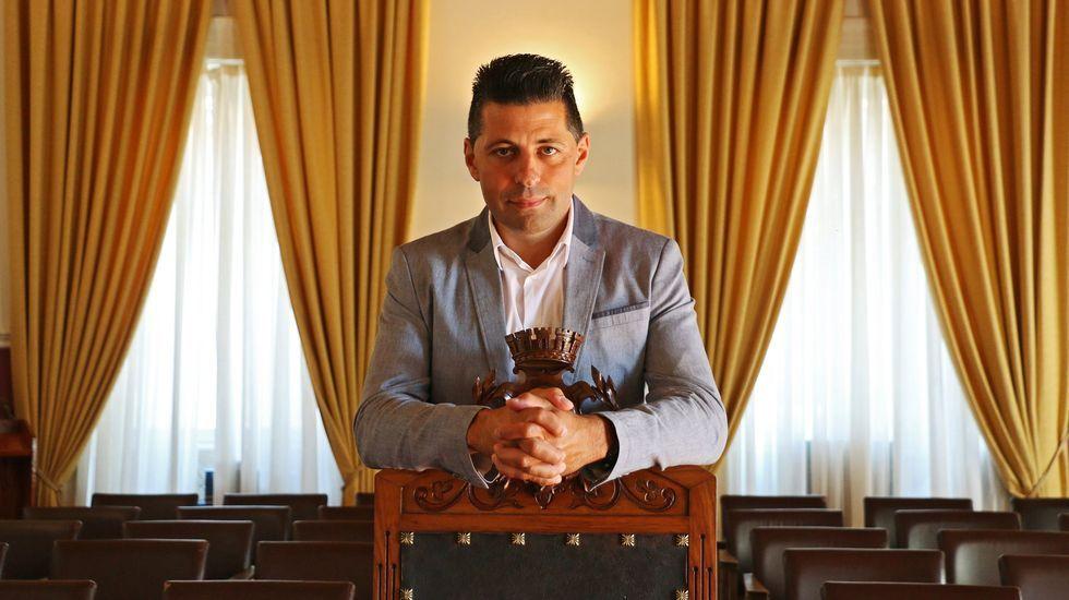 Rubén Rosón, concejal de Somos en el Ayuntamiento de Oviedo