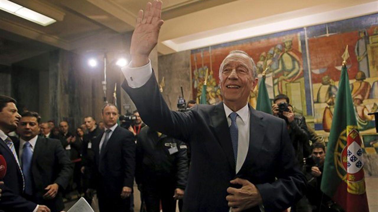 Marcelo Nuno Duarte Rebelo de Sousa, presidente de la república portuguesa