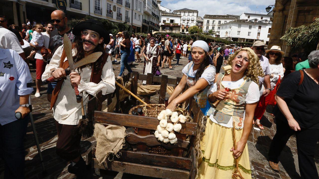 Mondoñedo disfruta con el Mercado Medieval