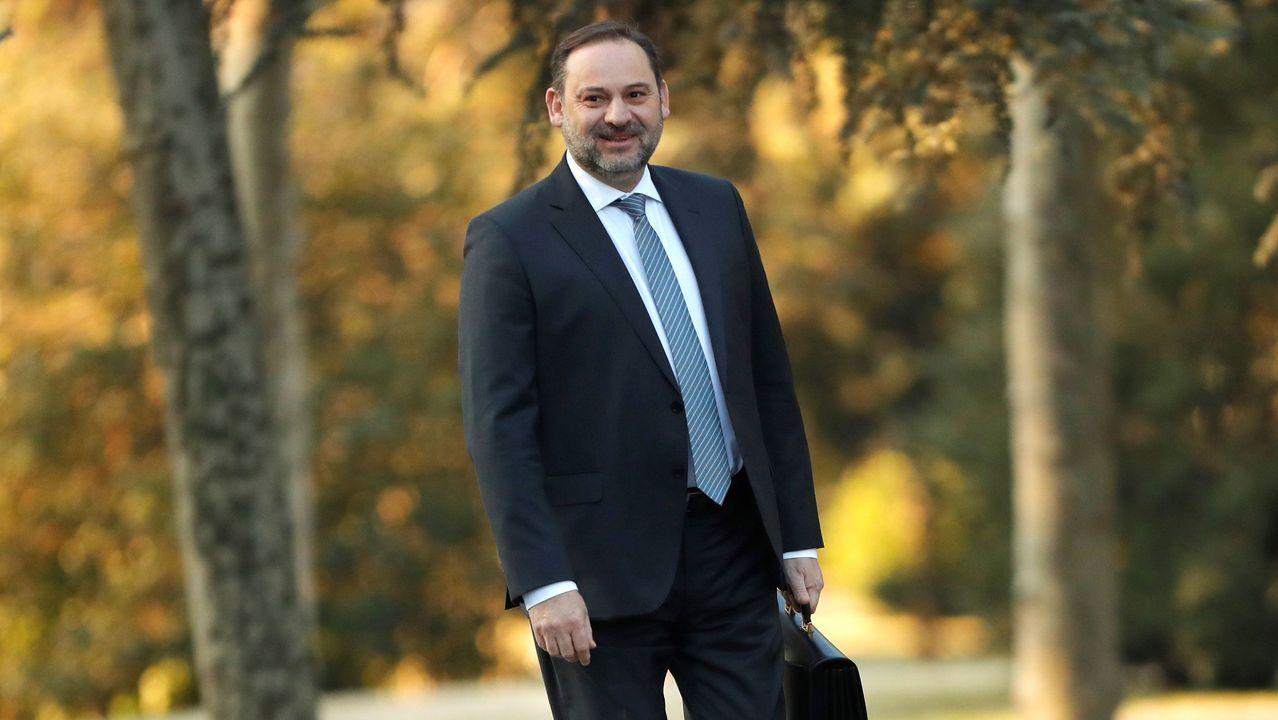 José Luis Ábalos, ministro de Transportes, Movilidad y Agenda Urbana