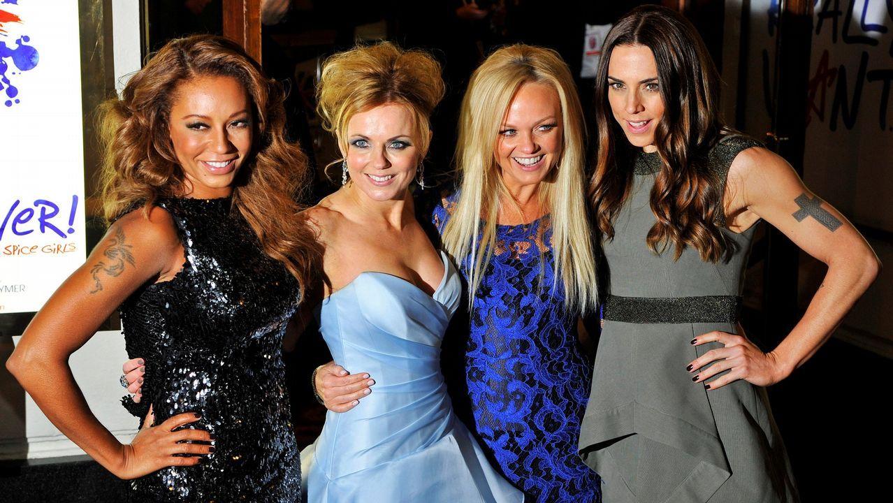 Rosalía triunfa en los MTV VMA con su tema con J Balvin «Con altura».Las cuatro componentes de las Spice Girls, sin Victoria Beckham