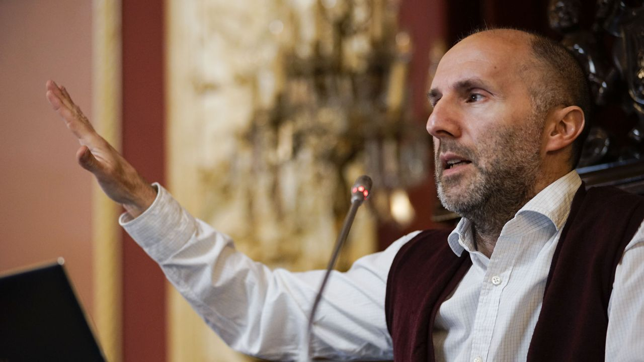 Gonzalo Pérez Jácome; alcalde de Ourense