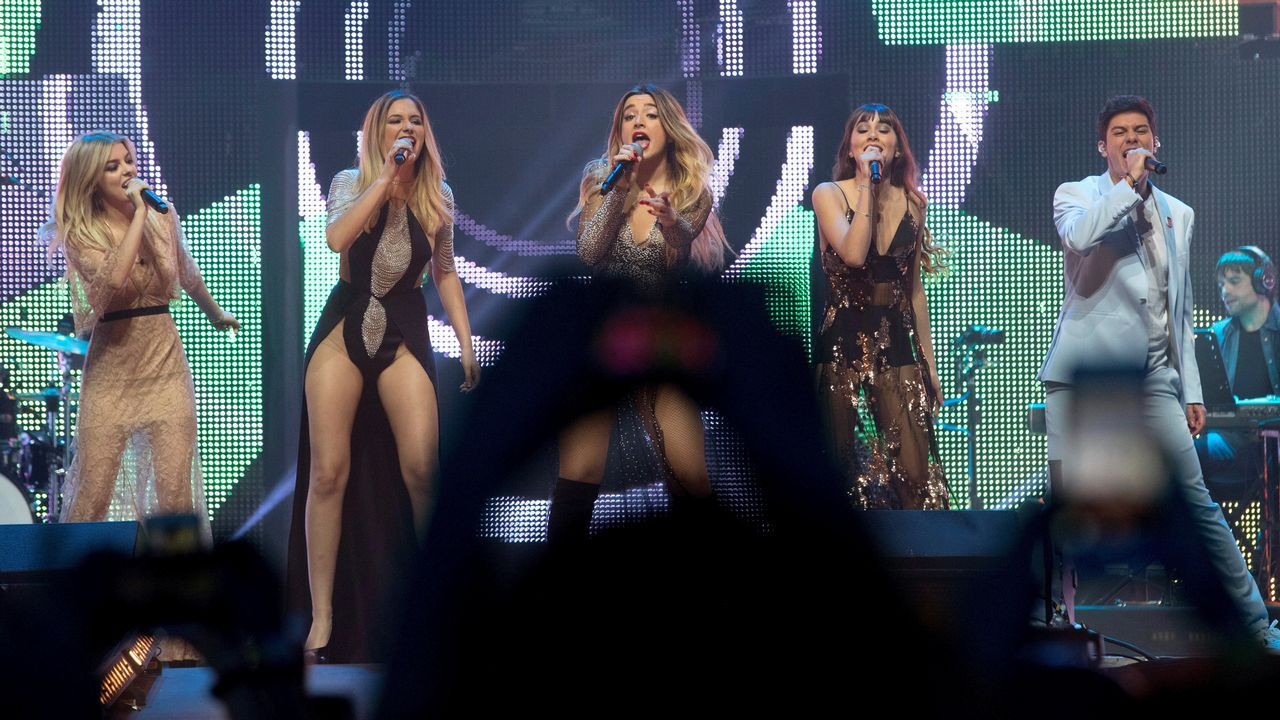 Las imágenes del primer concierto de la gira de «OT 2017»