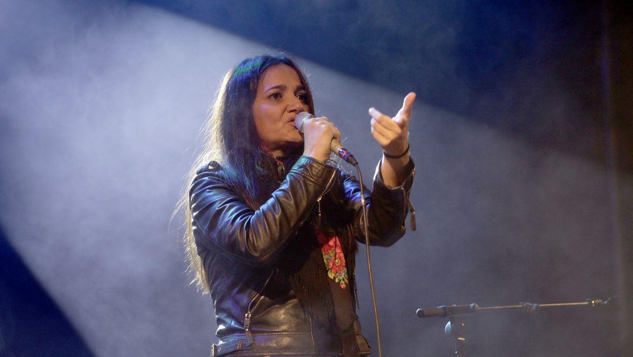La cantante Guadi Galego ofrecerá el último concierto del festival, que se celebrará el domingo en Chantada