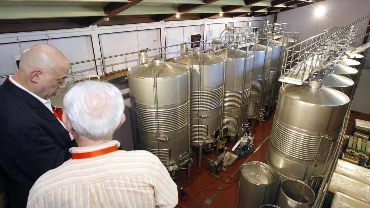 Visita de importadores a las instalaciones de Abadía da Cova, en O Saviñao