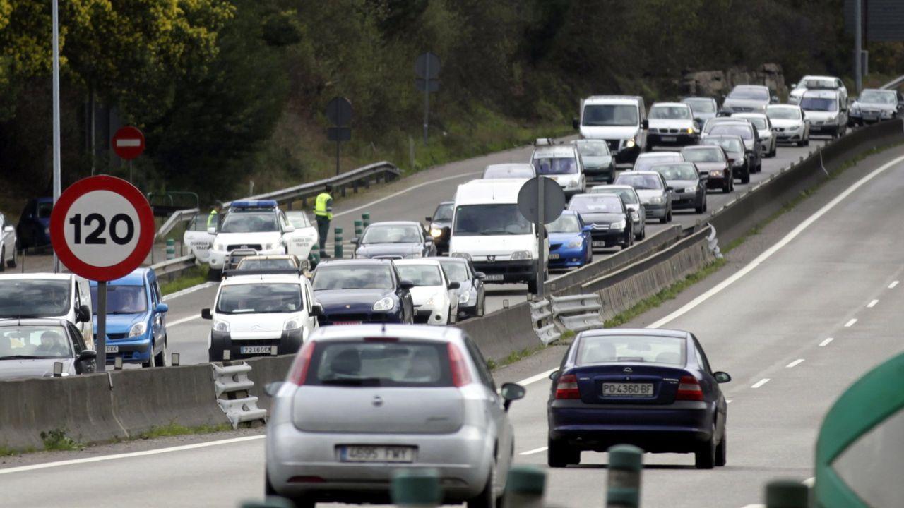 Entrada de la autopista Y a Oviedo
