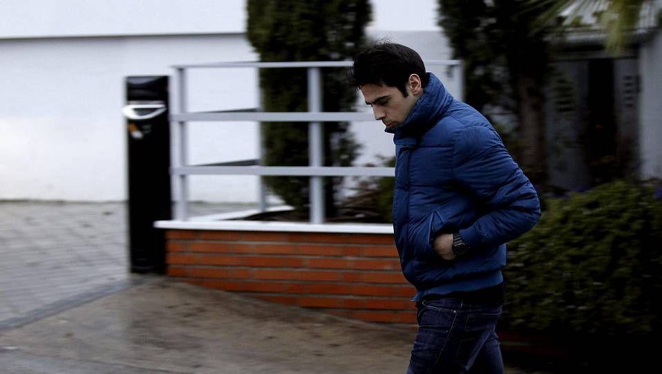 Oscars 2014: Los mejores momentos de la gala.Unai Casillas, hermano de Iker Casillas, a su salida de la clínica Ruber.