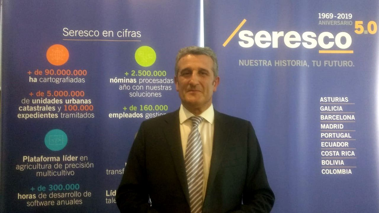 Manuel Ángel Busto, director general de SERESCO