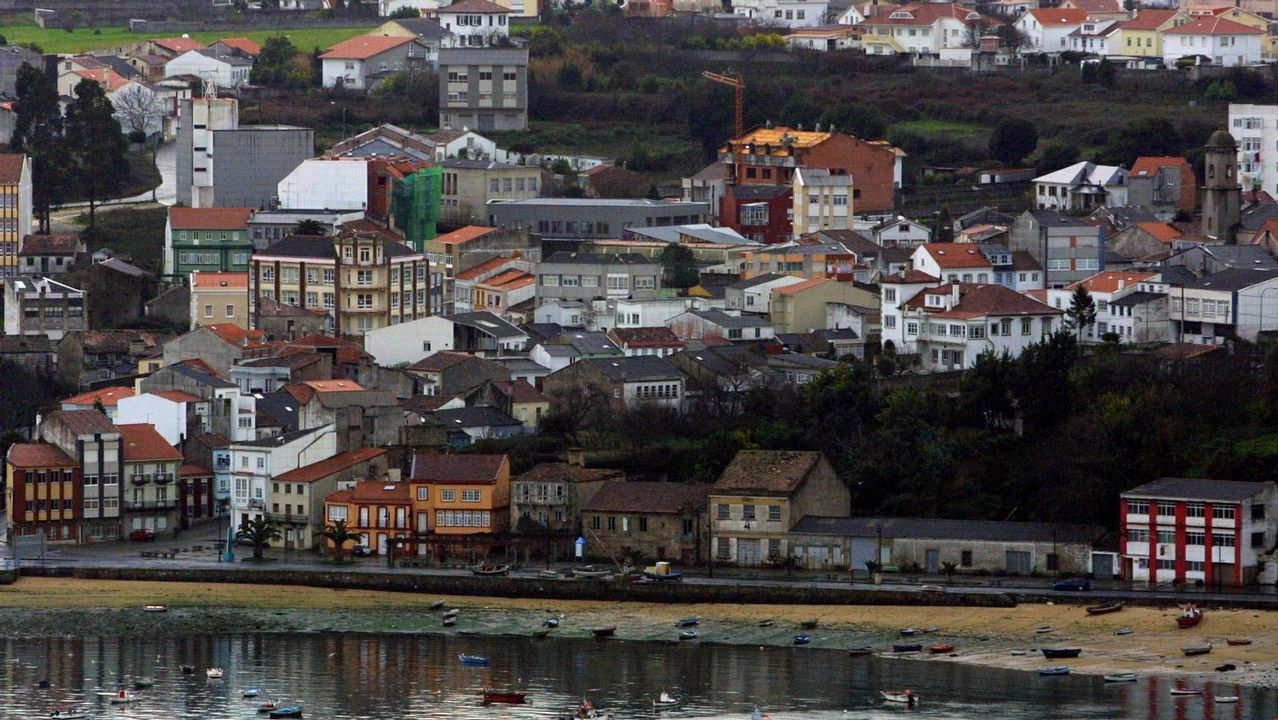 Flota amarrada hoy en el puerto de Cedeira