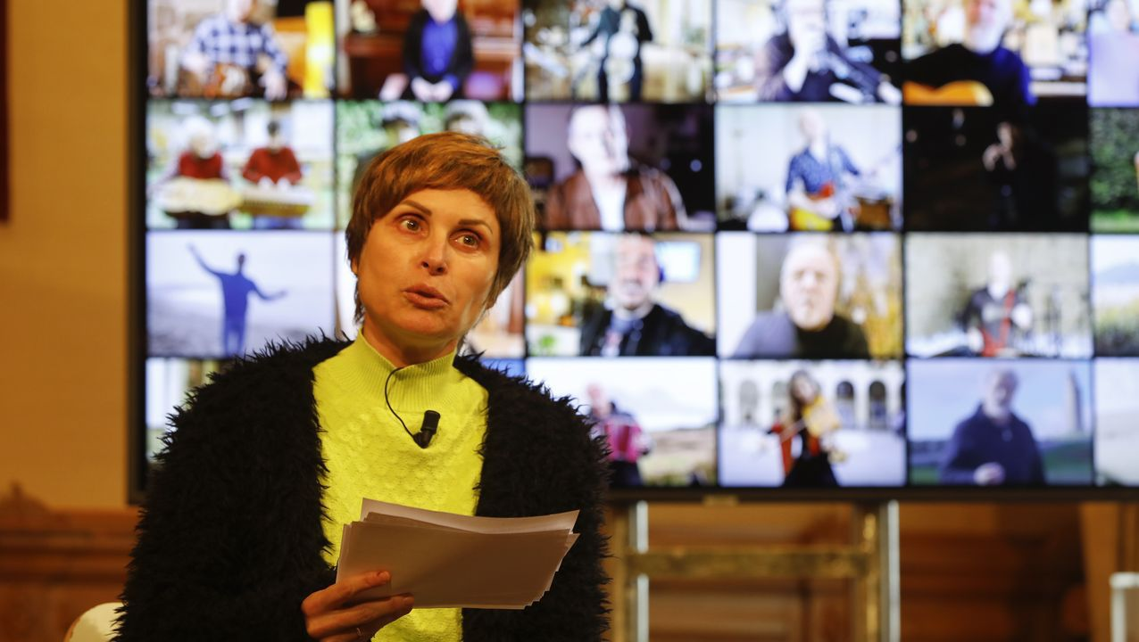 La directora de Turismo de Galicia, Nava Castro,  adelantó algunos detalles del acto de apertura del Xacobeo
