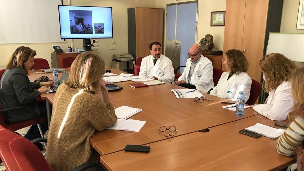 Galicia en alerta por la borrasca Helena.La comisión de dirección de la EOXI se reunió en O Barco