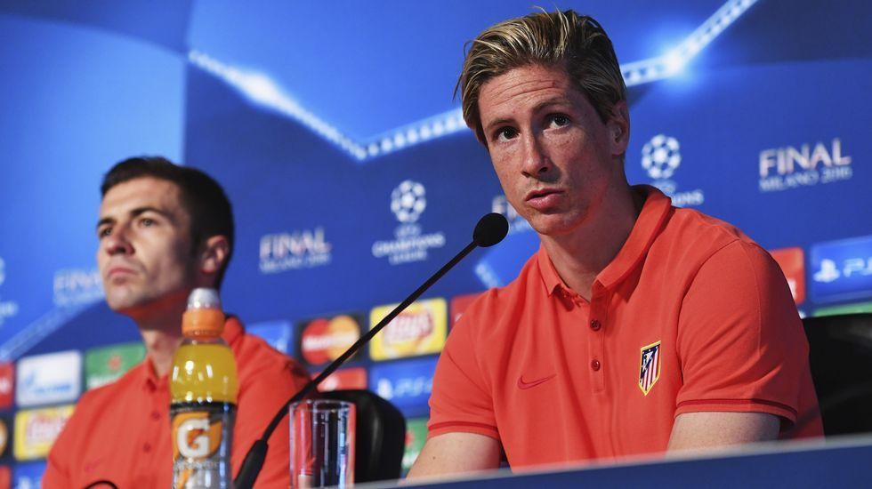 El partido más especial de Torres