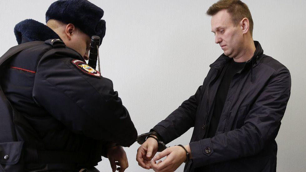 Imagen del vídeo subido por Alekséi Navalny