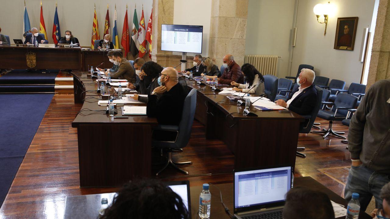 Diputados del gobierno de la Diputación de Lugo