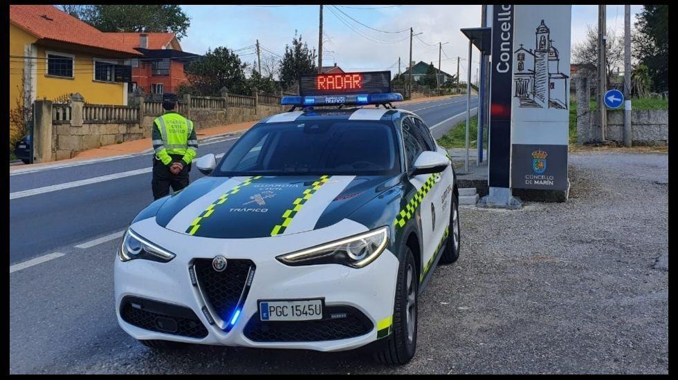 Pontevedra, normalidad laboral en la industria en el primer lunes en estado de alarma.La propuesta de líneas de la Real Sociedad Económica de Amigos del País de Santiago