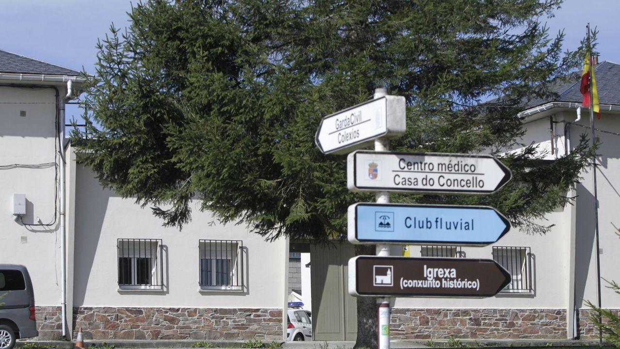 Entrada principal del Hospital Universitario Lucus Augusti (HULA)