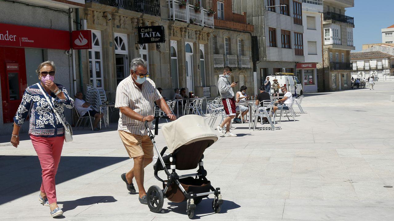 Sitios curiosospara alojarse en Barbanza.Imagen de Porto do Son, que tiene datos similares a los registrados en enero