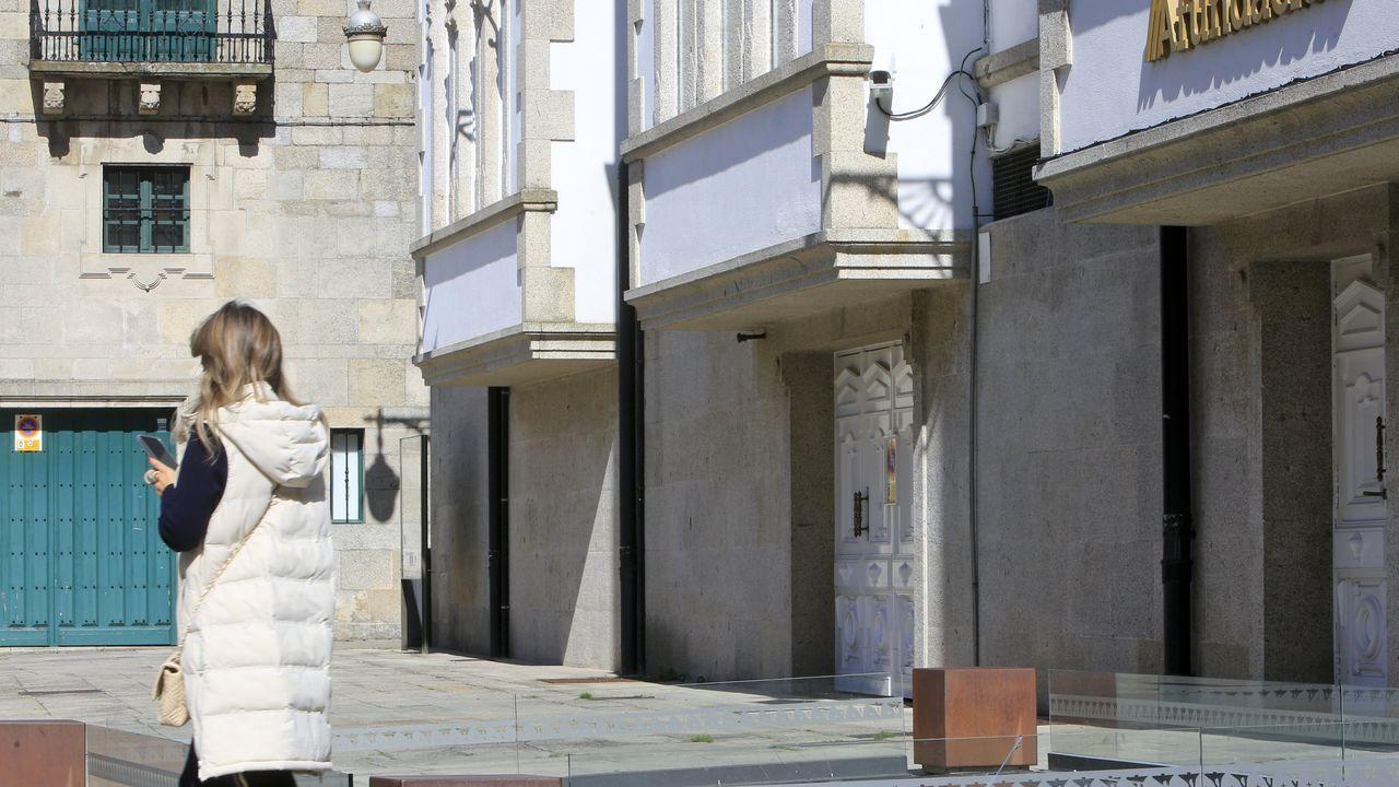 Lugo trae el campo a la ciudad.Las cámaras están situadas en la Praza de Santa María, Doutor Castro y la Rúa Nova