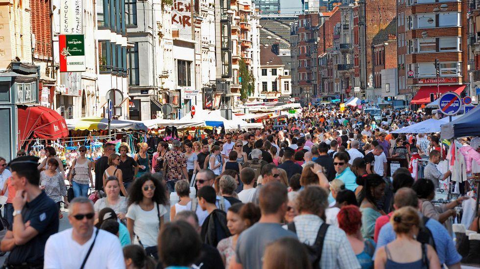 Mercado de las pulgas de Lille