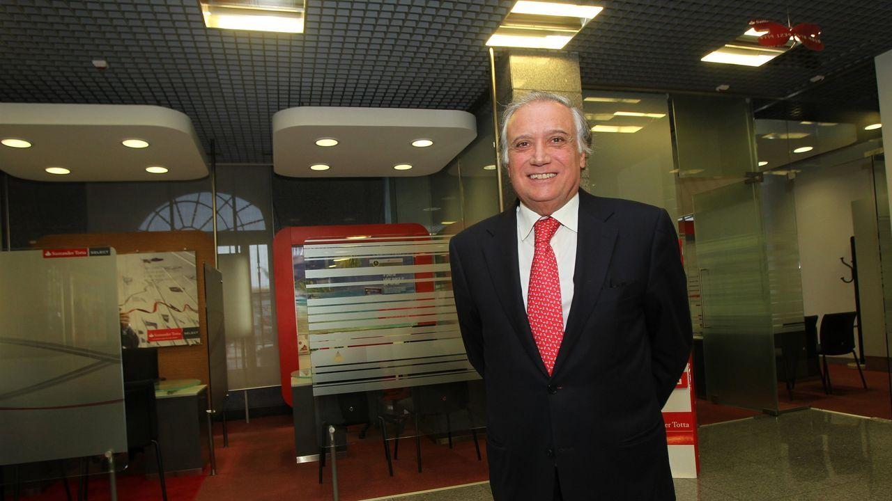 Antonio Vieira Monteiro, presidente del Santander en Portugal