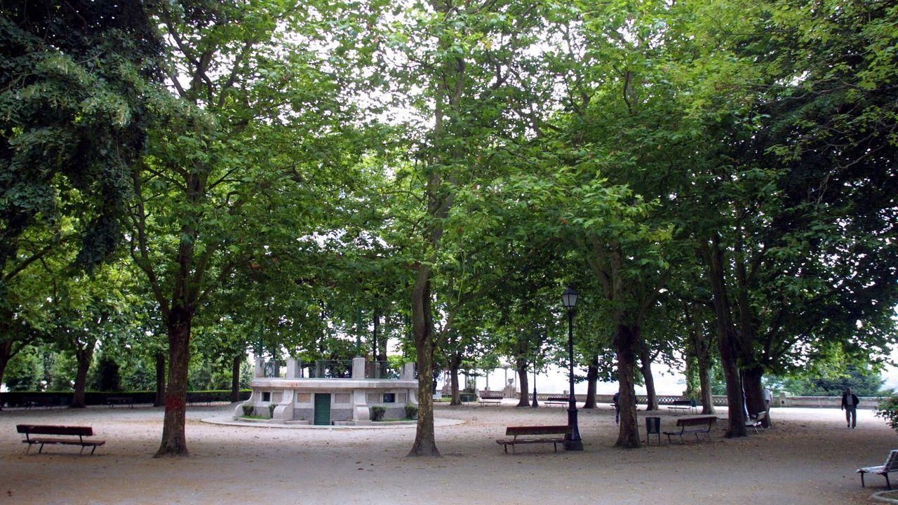 Una de las reclamaciones de responsabilidad patrimonial atendidas se originó en el parque de Rosalía