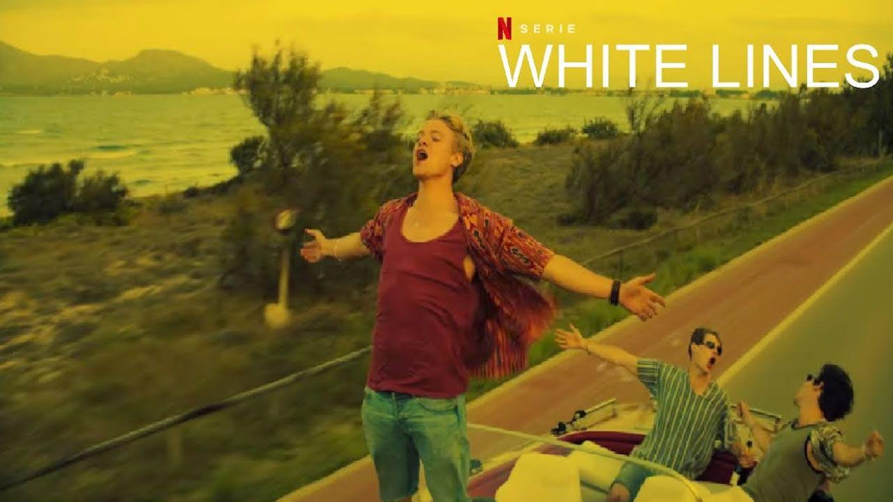 Esena de White Lines, donde aparece Juan Diego Botto.