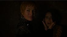 Cersei y Tyene Arena en el episodio 7x03 de Juego de Tronos