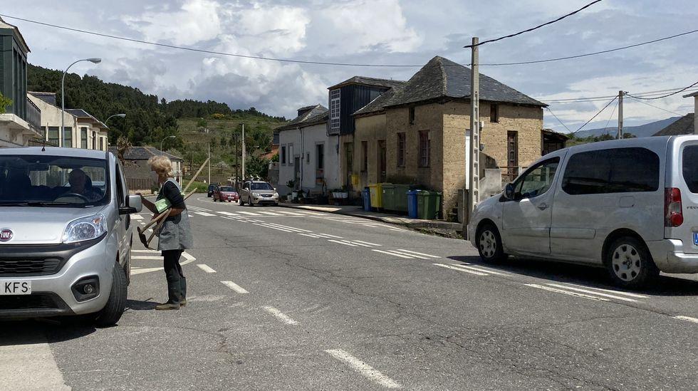 Más del 50 % de los vecinos de Larouco están vacunados