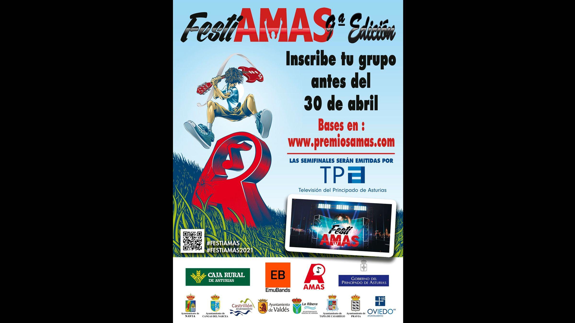 Cartel de la novena edición del FestiAmas