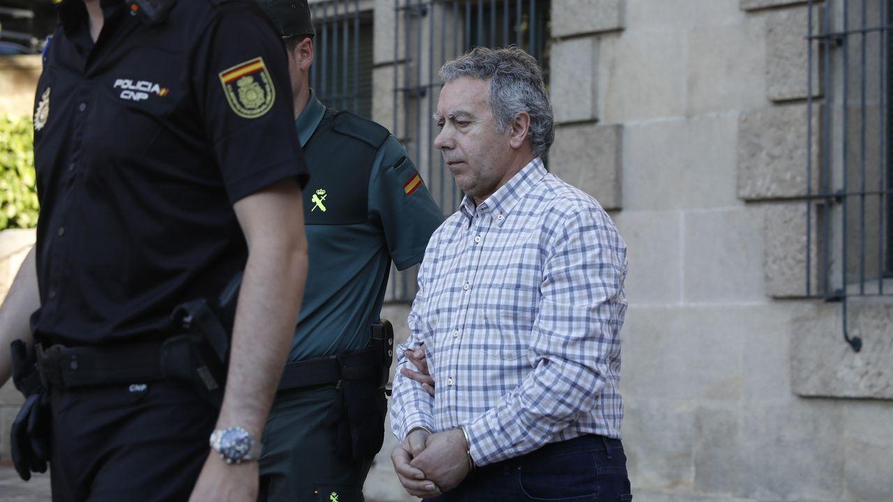 José Alén durante la segunda jornada del juicio