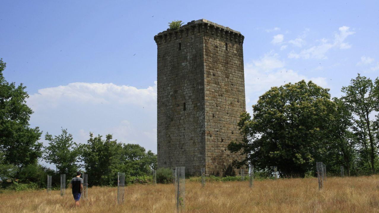 La torre de A Forxa en Porqueira