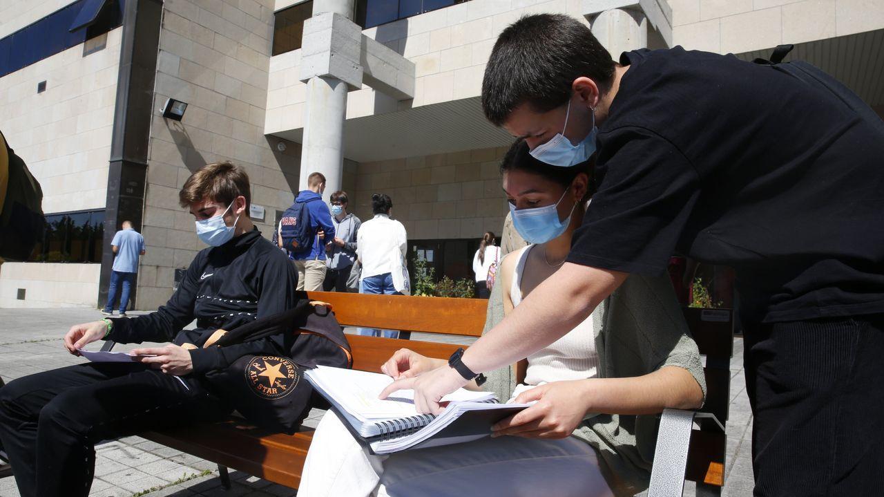 Los alumnos de Arousa se examinaron en Pontevedra