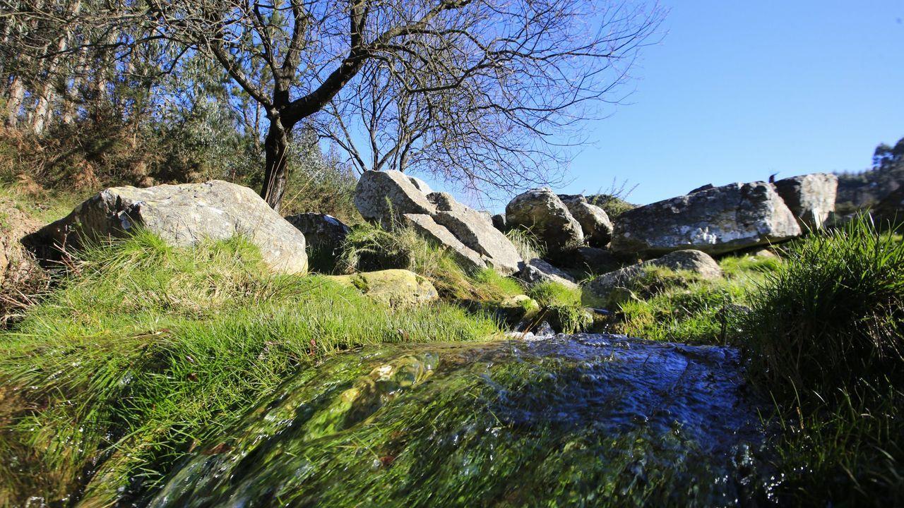 50 años de excavaciones en el castro de Viladonga.El Pedregal de Irimia es uno de los lugares más conocidos del municipio meirense