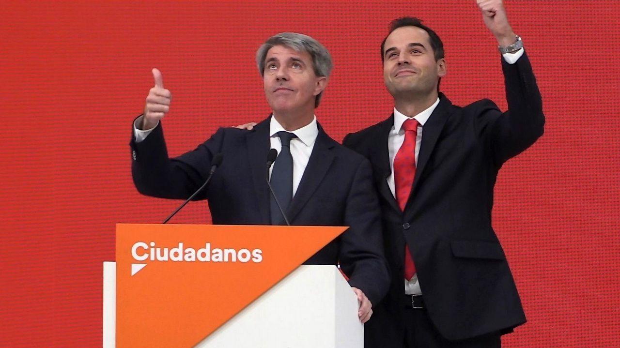 Golpe de efecto de Rivera con el fichaje del expresidente madrileño a 4 días de las generales.Isabel Díaz Ayuso